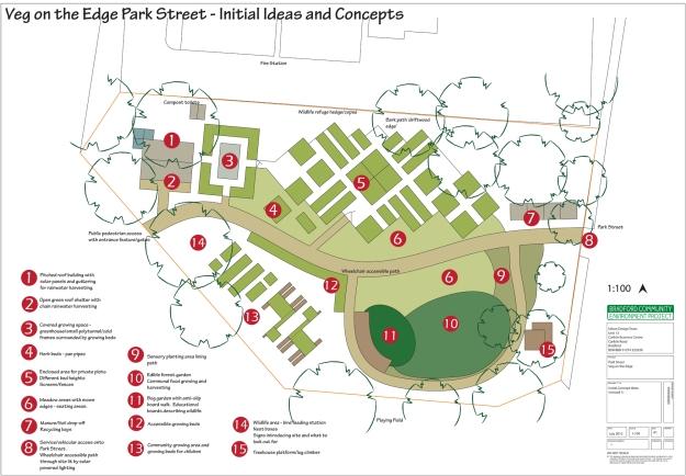 Initial Concept Plans Park Street Site BCEP